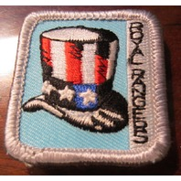 Royal Rangers Rr Uniform Patch Merit Badge Uncle Sam Top Hat Politics