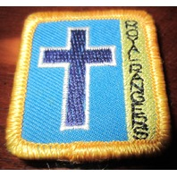Royal Rangers Rr Uniform Patch Merit Badge Religion Cross Medical