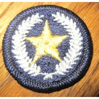 Royal Rangers Rr Uniform Patch Navy Silver And Gold Star Round