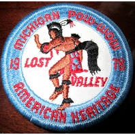 Royal Rangers Rr Uniform Patch Michigan Lost Valley American Heritage 1970