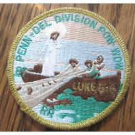 Royal Rangers Rr Uniform Patch Penn-Del Division Pow Wow Luke 5:6