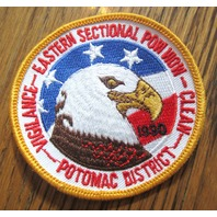 Royal Rangers Rr Uniform Patch Eastern Sectional Pow Wow 1990 Potomac Eagle
