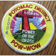 Royal Rangers Rr Uniform Patch Potomac District Pow Wow 2004 Power Of The Cross
