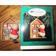 Hallmark Keepsake Ornament 1995 Collecting Memories Beaver Membership In Box