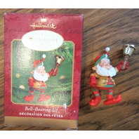 Hallmark Keepsake Ornament Bell Bearing Elf Collector Club