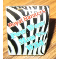 Royal Rangers Rr Uniform Lapel Hat Pin Pow Wow Man Vs Wild Zebra Stripes
