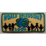 Girl Scouts Gs Vintage Uniform Patch  #Gsgr World Friendship 2004