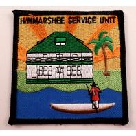 Girl Scouts Gs Vintage Uniform Patch  #Gsbk Himmarshee Service Unit