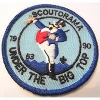 Scout-O-Rama 1Under The Big Top Bsa Boy Scout Uniform Patch