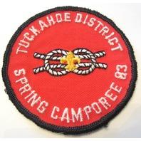 Tuckahoe District Spring Camporee 1983 Uniform Boy Scout Patch Bsa