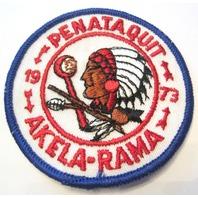 Penataquit Akela-Rama 1973 Bsa Boy Scout Uniform Patch