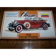 Lindberg Line Lincoln Phaeton Car 1/32 Scale Model New