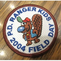 Royal Rangers Rr Uniform Patch Ranger Kids Field Day 2004 P.D. Beaver