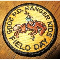 Royal Rangers Rr Uniform Patch Ranger Kids P.D 2005 Field Day Horse Rider