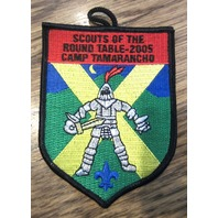 Bsa Boy Scout Uniform Patch Of The Round Table 2005 Camp Tamarancho Bsa
