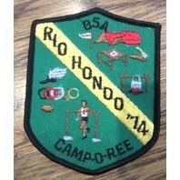 Bsa Boy Scout Uniform Patch Rio Hondo 1974 Bsa