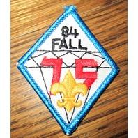 Vintage Boy Scout Patch Scout 1984 75Th Anniversary Fall Uniform Bsa