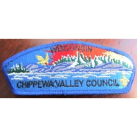 Bsa Boy Scout Uniform Pocket Flap Patch Wisconsin Chippaway Valley