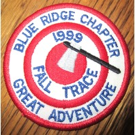 Royal Rangers Rr Uniform Patch 1999 Fall Trace Blue Ridge Chapter Grt Adventure