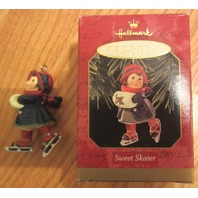 1999 Hallmark Keepsake Ornament Sweet Skater By Sue Tague - Nib