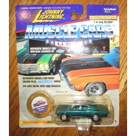 Johnny Lightning Muscle Cars 1966 Chevy Mailbu New Mib Ltd Edit.