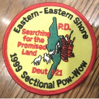 Royal Rangers Rr Uniform Patch Eastern Shore Sectional Pow Wow Deut 1:21 1999