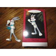 Hallmark Looney Tunes Bugs Bunny Snow Ornament New Mib