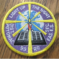 Royal Rangers Rr Uniform Patch Light Up The Night Dist Potomac 1998