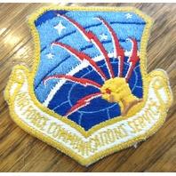 Communications Service Military Air Force Uniform Patch
