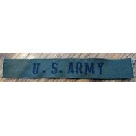 U.S. Army Green Bar Stripe Patch