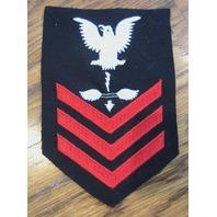Us Navy Aviation Anti Submarine Warfare Tech Navy Wool Uniform Patch 1St Class