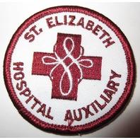 Vintage Uniform Patch St Ellizabeth Hospital Auxiliary