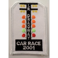 Girl Scouts Gs Vintage Uniform Patch Dragway Car Race 2001 Stop Light #Gswh