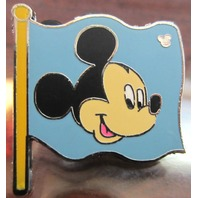 Hidden Mickey Disney Character Pin - Mickey Flag Trading Pin