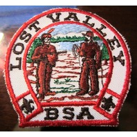 Bsa Boy Scout Uniform Patch Lost Valley Bsa Pioneer Indian
