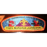 Bsa Boy Scout Uniform Pocket Flap Patch National Jamboree Lake Bonneville Utah