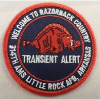 Welcome To Razonback Country Transient Alert 34Th  Vintage Uniform Patch #Mtrd