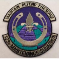123Rd Maintenance Squadron Maintain Defend Preserve Vintage Uniform Patch #Mtbk