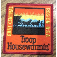 Bsa Boy Scout Uniform Patch Bsa East Central Region Bsa Troop Housewarmin'