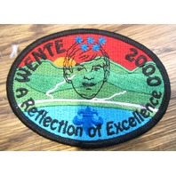 Bsa Boy Scout Uniform Patch Bsa Wente 2000 A Reflection Of Excellence