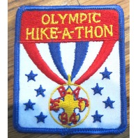 Bsa Boy Scout Uniform Patch Bsa Olympic Hike-A-Thon Bsa Mbac 1984