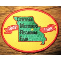 Bsa Boy Scout Uniform Patch Central Missouri Regional Fail 1947-1996