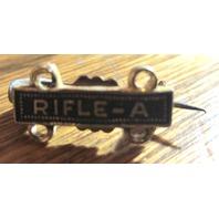 U.S.A. Military Rifle A Lapel Hat Pin
