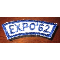 Bsa Boy Scout Uniform Patch Expo 1962 '62 Segment Bar