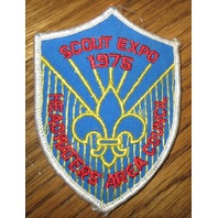 Boy Scout Patch Scout Expo 1975 Headwaters Area Council