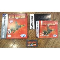 F-14 Tomcat Nintendo Gameboy Advance Gba Cib Complete