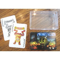 Pac-Man Namco Set Of Playing Cards Single Deck With Storage Case