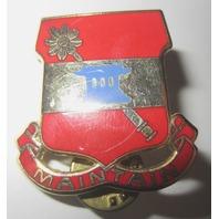 Military Unit Crest,Dui, 703R D Support Battalion Maintain Lapel Uniform Pin