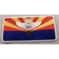 Wings With Sheld Crest Star And Sun Rays Uniform Patch Military  #Mtwh