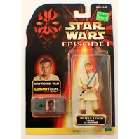 Hasbro Star Wars: Episode 1 - Obi-Wan Kenobi Naboo Action Figure talking figure